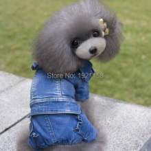 Newest font b Pet b font Dog Jeans font b clothes b font Princess Puppy dog