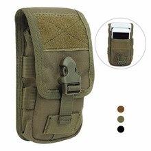 Тактическая двухслойная сумка для телефона, сумка для мобильного телефона, сумка для денег, Сумка с ремнем, военная охотничья сумка, поясная сумка