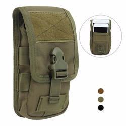 Тактический двухслойный телефон сумка Молл мобильного телефона деньги инструменты поясная Сумка военный Охота Молл Сумка поясная сумка