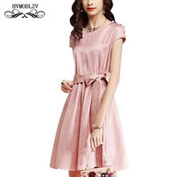 2018 New Spring summer Autumn short sleeved Dress Women Fashion High quality Female party dress Slim sexy Dresses best friends
