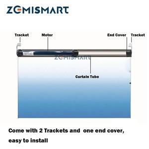 Image 3 - Zemismart 25mm 스마트 롤러 쉐이드 모터, 38mm 튜브 용 RF 전동 롤러 셔터 블라인드 엔진, 브로드 링크 사용