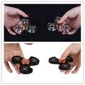 Непоседа Spinner EDC HandSpinner Игрушки Керамический Подшипник Пользовательские Непоседа Игрушки Черный