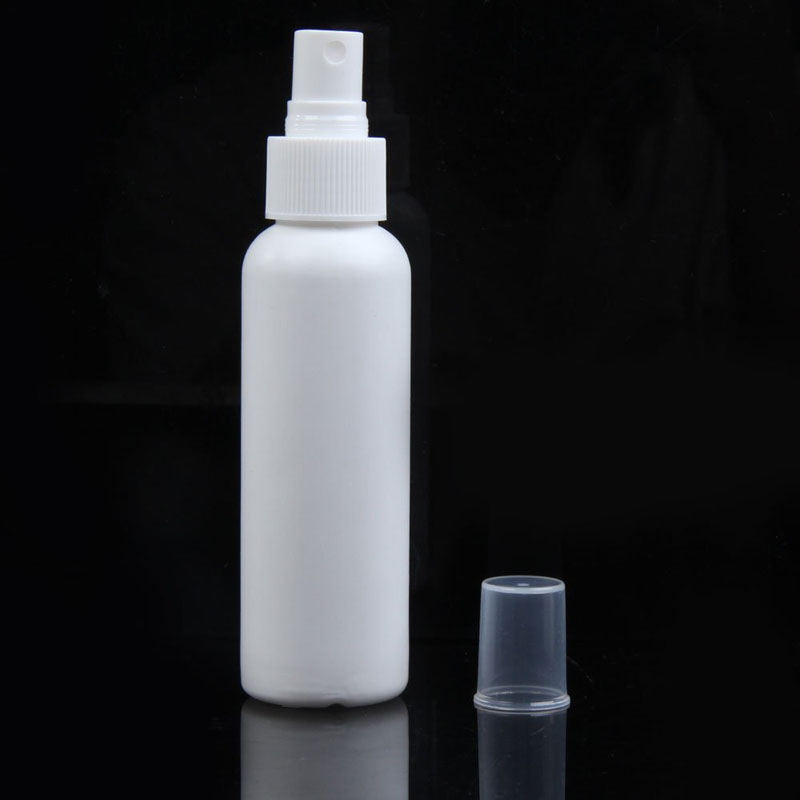 10pcs/lot 100ml Plastic Airless Bottle and Pump White with Overcap, Translucent White Empty Perfume Bottle Cosmetics Bottles 100 pcs lot of small glass vials with cork tops 1 ml tiny bottles little empty jars