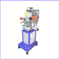 Sale Semi Automatic Flat Cylindrical Hot Stamping Machine