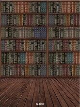 8x12ft bibliothek bcher regal fall schrank harte dunkle holzboden benutzerdefinierte fotografie hintergrund studio hintergrund vinyl - Geflschte Hartholzbden Ber Teppich