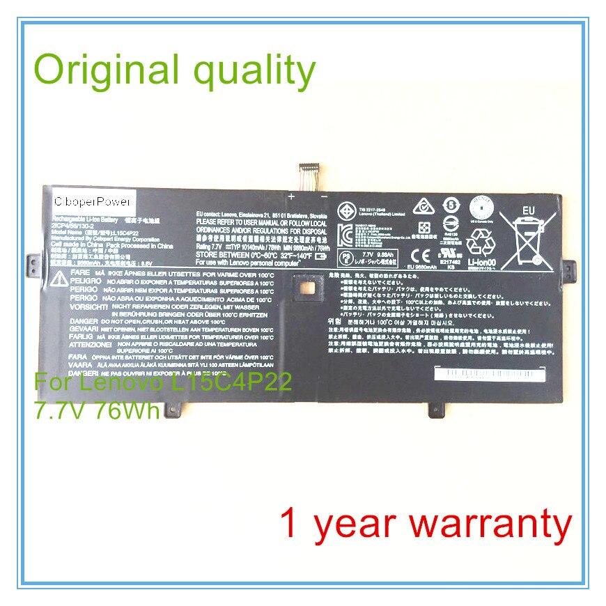 Original quality for  YOGA910 YOGA5 PRO L15C4P22 battery 4 l 22 5 777859