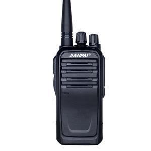 Image 1 - VHF 햄 라디오 JP 1000 워키 토키 강력한 5600mAh 배터리 야외 장거리 사냥 워키 토키 10km