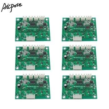 6Pcs/lots 4/8 Channel Motherboard Large Button 7x12W/6x12w/5x12w/12x12w  RGBW 4 in 1 LED PAR Motherboard Voltage 12-36V Par Led