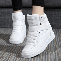 Hiding Wedge Heel High Top Running Shoes Women Ladies Breathable Training Shoes Girls Sport Snow Boots Women Running Sneakers