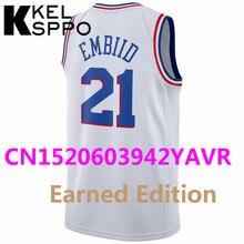 130ecf9f706d 2018 19 City Edition Basketball 21 Joel Embiid 23 Jimmy Butler 25 Ben  Simmons Jersey