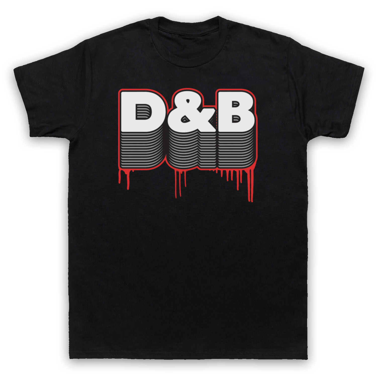 D&B DRUM AND BASS DNB FAN ELECTRONIC BREAKBEAT MUSIC MENS WOMENS KIDS T-SHIRT Fashion Summer Paried T Shirt Top Tee