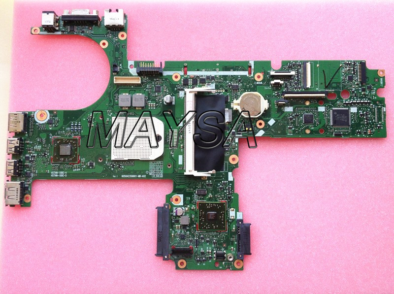 US $40 8 |Original 613397 001 motherboard fit for hp probook 6455B 6555b  notebook pc main board, 100% working-in Motherboards from Computer & Office