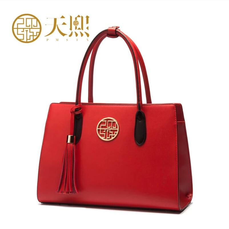 Famous brand top quality dermis women bag Chinese Wind handbag Tassels bride bag Shoulder Bags