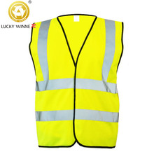 WINNER Car Degrees High Visibility Neon Safety Vest Reflective Belt Safety Vest Fit for Running Cycling Sports Outdoor Clothes reflective safety vest belt for kid child children pupil security reflective waistcoat belt for outdoor running jogging cyclin