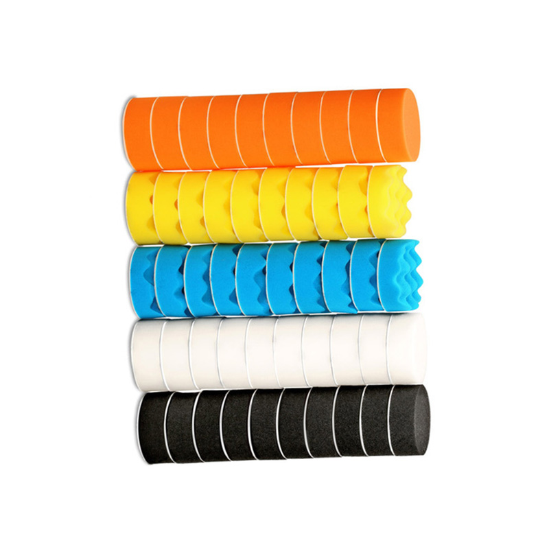 Foam Polishing pads Waxing Mitts Automotive Tools Wave Accessories Buffing|Care Shampoo| |  - title=