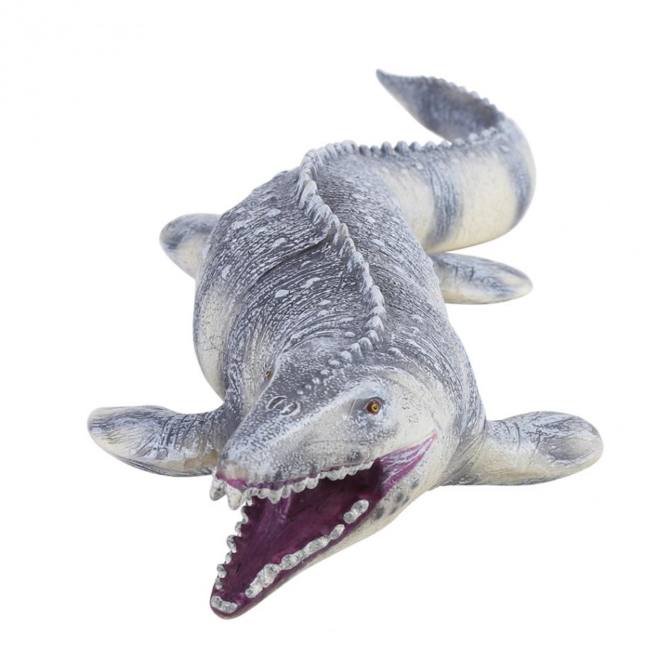Jurassic Big Mosasaurus Dinosaur toy Soft PVC Action Figures Hand Painted Animal Model Collection Dinosaur Toys For Children recur toys mongolian horse toy high simulation model hand painted action figure pvc soft animal toy christmas gift for kids