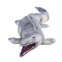 Brinquedo do Dinossauro jurássico Grande Mosasaurus Macio Pintados À Mão Animais Figuras de Ação PVC Coleção Modelo Brinquedos de Dinossauros Para Crianças