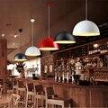 Подвесная лампа для ресторана  современный подвесной светильник с одной головкой  полукруглый светодиодный подвесной светильник