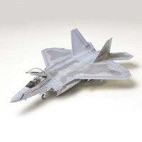 조립 모델 비행기 60763 1/72 미국 F-22 랩터 스텔스 전투