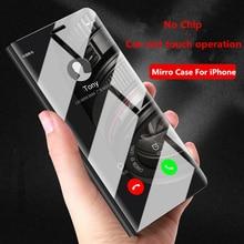 Twitch Luxury Case For iPhone 8 7 6 6 S Plus Ultra Slim Mirror Smart case