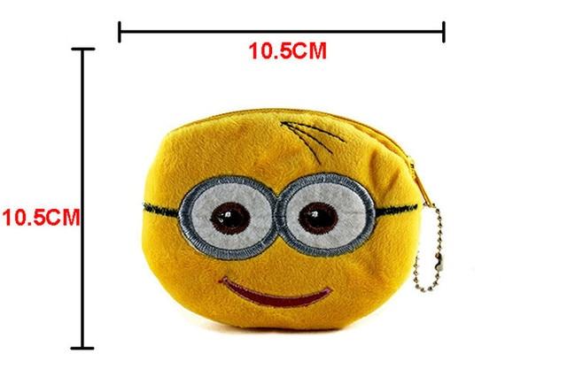 Cute Cartoon Pokemon Go Pikachu Plush Coin Purse Children Zipper Change Purse Wallet Hello Kitty Superman Pouch Bag For Kid Gift