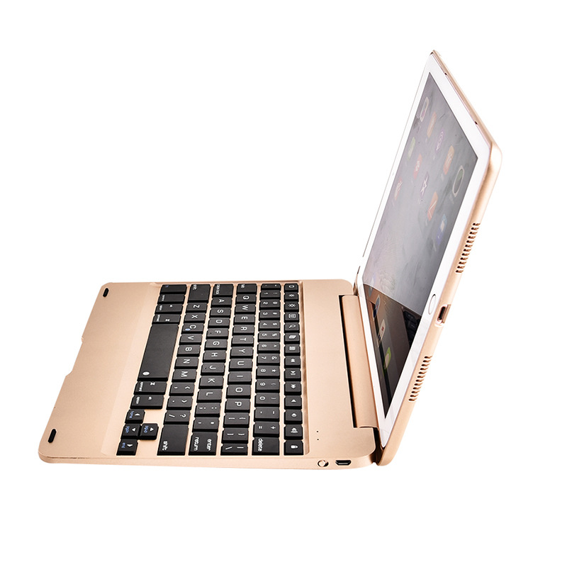 Wireless Bluetooth Keyboard Cover Case for iPad 9.7 2017 2018 5th 6th Generation Air 1 2 5 6 Pro 9.7 Folding Laptop Design