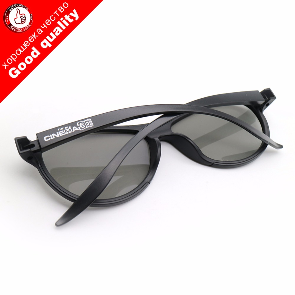 High Quality Replacement AG-F310 3D Glasses Polarized Passive Glasses For LG TCL Samsung SONY Konka Reald 3D Cinema TV Computer
