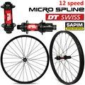12 Скоростей DT Swiss Series 27.5er 650B углеродистая MTB велосипедная колесная установка 28 мм XC обод для горного велосипеда колесный Центральный замок и...