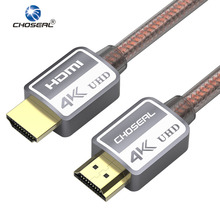 CHOSEAL Cable HDMI a HDMI DH509 2,0 3D 4 K Ultra High Speed HDMI Cable para HD TV LCD Laptop PS3 proyector Ordenador 2 m 3 m