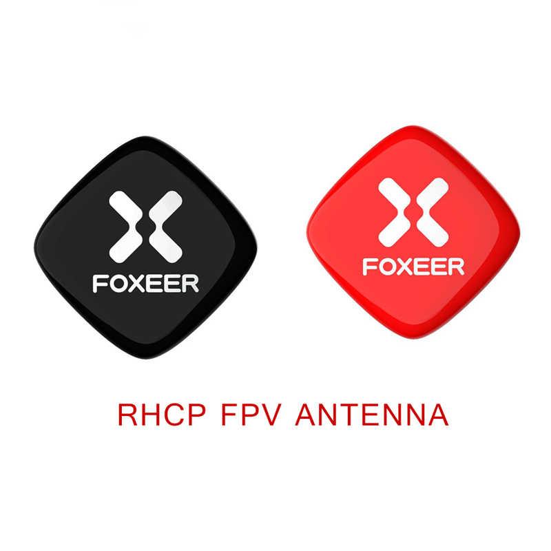 Foxeer التصحيح 5.8G 8DBi LHCP/RHCP FPV هوائي SMA الذكور والصدى التصحيح RHCP FPV هوائي الطاعم FPV نظارات ل RC FPV سباق Drone