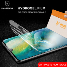 SmartDevil Screen Protector for Huawei Mate 20 Pro 3D Full Cover HD Clear Hydrogel Film high-definition