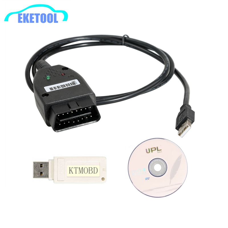 PCMFlash V1.1.94 KTMOBD Mise À Niveau D'ÉCUS Outil DiaLink J2534 Transfert Stable Réel Lecture KTM OBD 1.1.94 USB Dongle Supporte Les Protocoles
