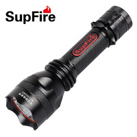 Scuba Diving LED Flashlight Waterproof Torch Rechargeabale Flash Light USB Car Charger Direct Charge Tail Knife