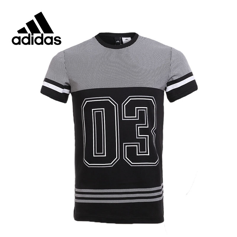 Adidas New Arrival 2017 Original GFX TEE 3S NO3 Men's T-shirts short sleeve Sportswear CD1073 CD1072