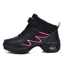 Maultby Women Black Purple Dance Shoes Jazz Hip Hop Shoes Sneakers for Woman Platform Dancing Ladies Shoes #DS4952P