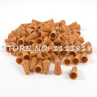 P3 22-14AWG Orange Electrical Twisted Insert Wire Connector Nuts 50 Pcs