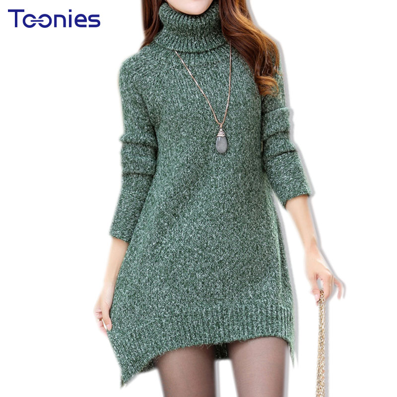 Turtleneck Casual Long Pregnancy Women Sweaters for Maternity Clothes Knitted Cotton Loose Bottoming Pullovers Plus Size