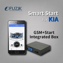 Fuzik удаленного Smart Start GPS трекер слежения Системы для KIA K3 K4 K5 kx3 kx5 Sorento Sportage R