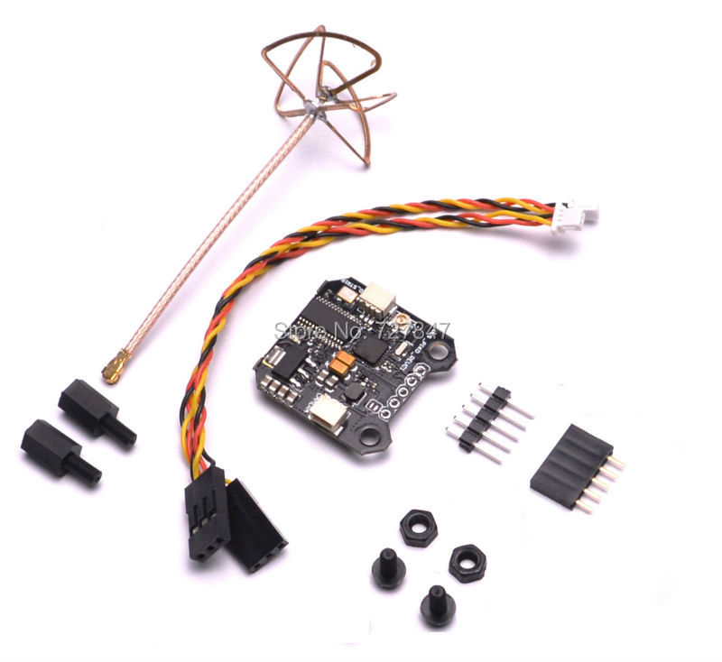Micro Mini VTX-OSD VTX OSD Board 40CH 5.8G 25mw-200mw Mini 20x20mm FPV Transmitter Integrated OSD RHCP Antenna for PIKO BLX fpv s2 osd barometer version osd board read naza data phantom 2 iosd osd barometer with 8m gps module