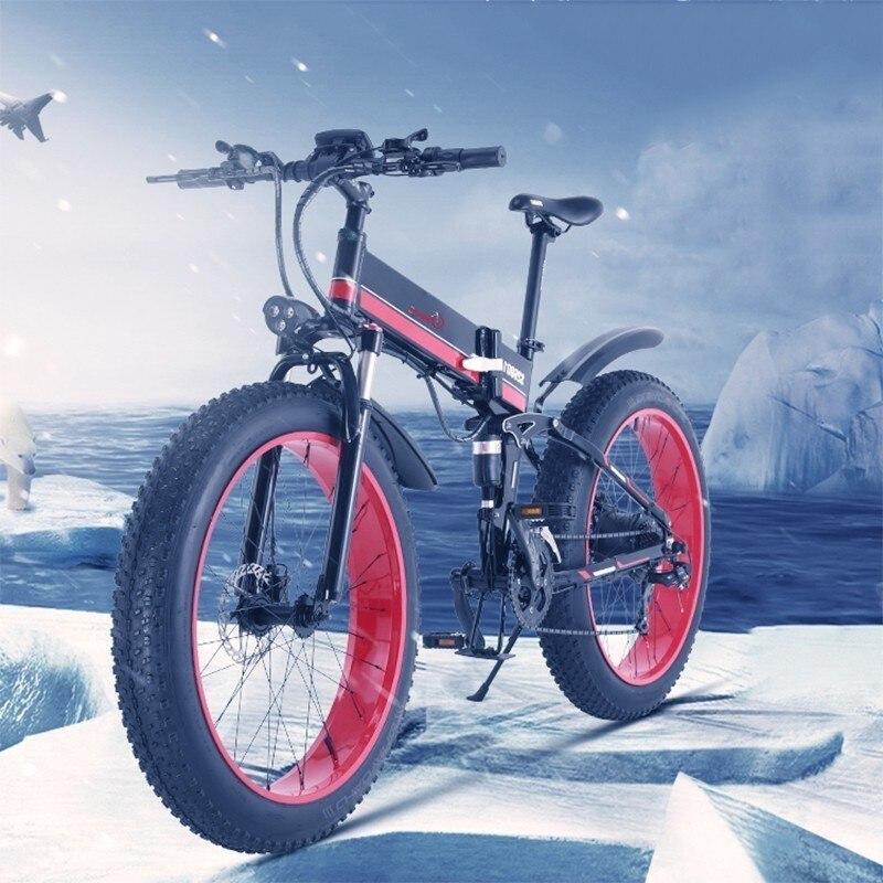 Customized Version Of The Mountain Bike Brake Hydraulic Oil 48v350w 10.4ah + 18ah Of Lithium Battery Ebike Within Li Batt