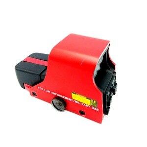 Image 3 - ยุทธวิธี 551 Holographic Sight Mini Reflex Red Dot Optics Sight ปืนไรเฟิลขอบเขตการล่าสัตว์ Airsoft 20 มม.Dropshipping