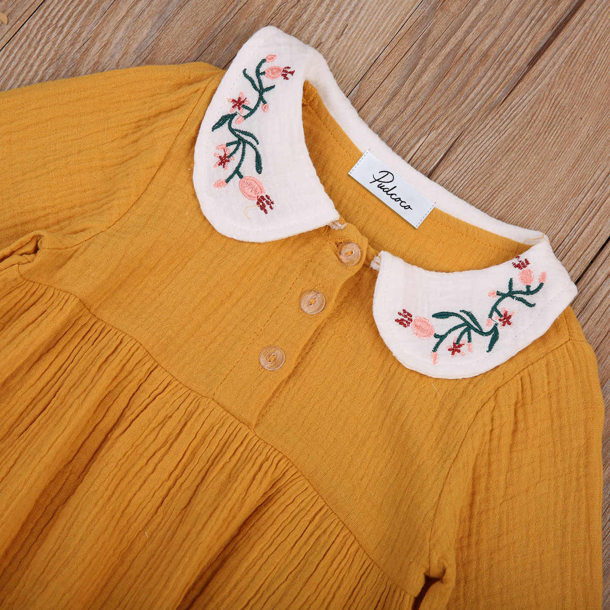 Комбинезон для маленьких девочек; комбинезон с цветочным рисунком и круглым отложным воротником для новорожденных девочек; Милая Солнцезащитная шляпа; одежда; От 0 до 3 лет; одежда для малышей