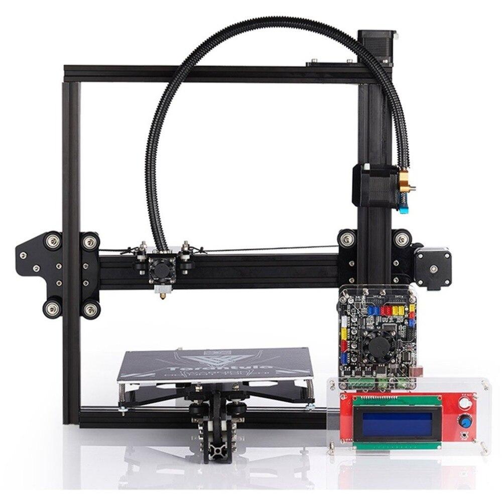 TEVO Tarantula bricolage drôle 3D imprimante Kit artisanat haute précision en Aluminium cadre usage domestique Machine d'impression pour cadeau