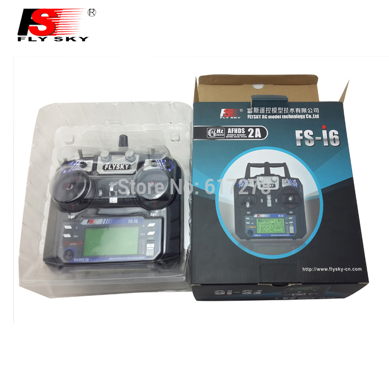 In stock ! FlySky FS FS-i6 2.4G 6ch Transmitter and Receiver System LCD screen for RC helicopter VS FS-T6 Free Shipping flysky 2 4g 6ch channel fs t6 transmitter receiver radio system remote controller mode1 2 lcd w rx rc helicopter multirotor