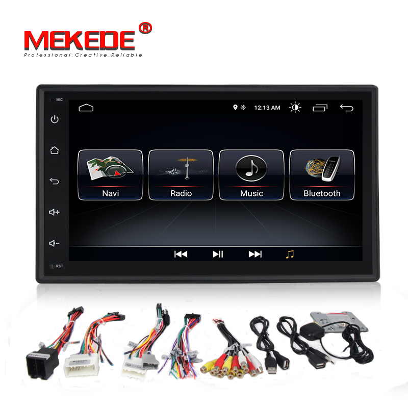 Auto DVD GPS android 8.0 Player 2 din radio Neue universal GPS Navigation Multimedia Für Nissan Toyota Volkswagen Mazda BYD Kia VW