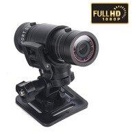 F9 FULL HD 1080P Small Sport Action Camera DV car DVR dashcam CMOS aluminum Waterproof H.264 5.0MP 120 degree Camcorder