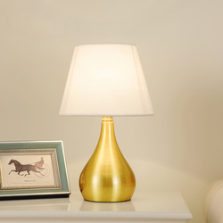 Darmowa wysyłka amerykańska sypialnia tabeli światła foyer europejskiej lampa stołowa nowoczesne Led miedzi biurko lampa lampka biurkowa do czytania
