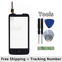 New Original For Lenovo A820 Touch Screen With Digitizer Replacement Parts External Screen Black Free Shipping
