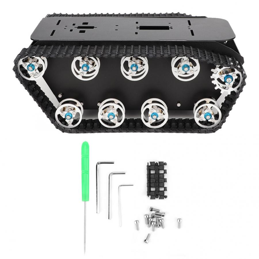 Children DIY Crawler Chassis Accessories A-13  for Robot Car Tank Dual-drive Motor Beautiful Appearance xanes a6s