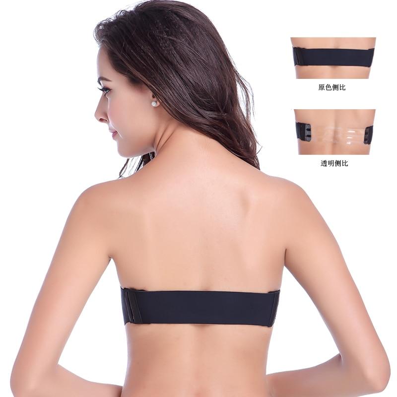 2015 newest Strapless bra gather Seamless underwear wedding dress ...